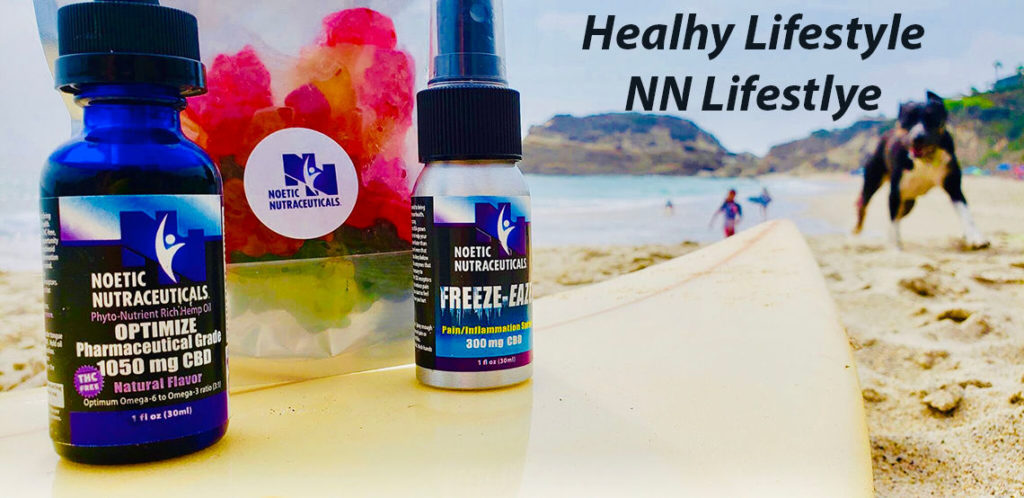 Noetic CBD Oil, Gummies and Pain Relief Spray